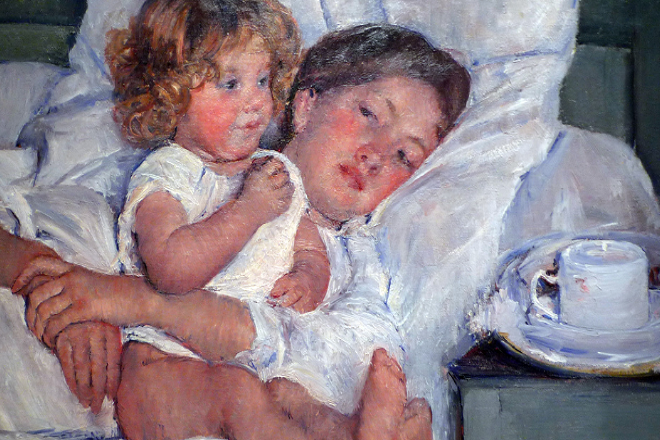 Η μητρότητα μέσα από σημαντικά έργα τέχνης (Φωτογραφίες)
