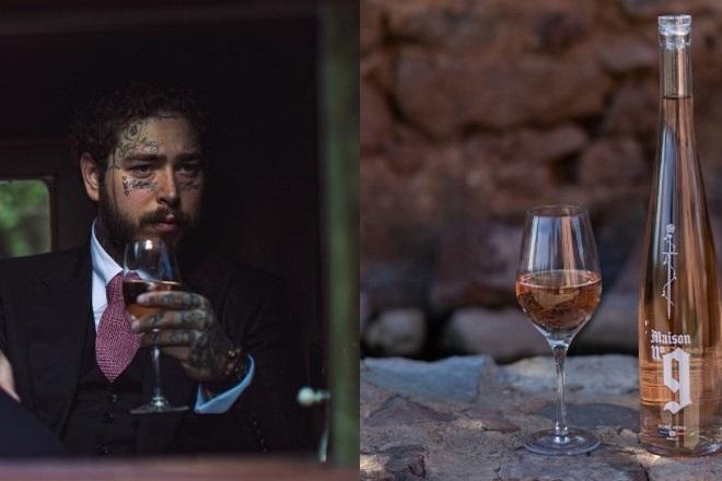 Ο Post Malone λανσάρει το δικό του ροζέ κρασί