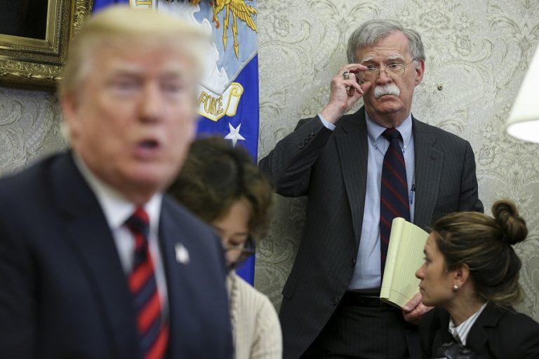 Αναστάτωση προκαλεί στον Λευκό Οίκο το βιβλίο του Τζον Μπόλτον- Περνά στην αντεπίθεση μέσω…Twitter ο Τραμπ
