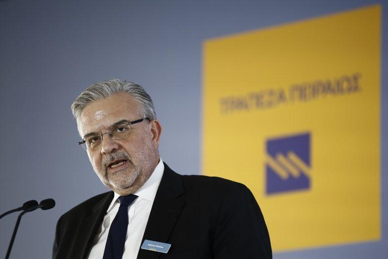 Μεγάλου: Άνω των 6 δισ. ευρώ τα δάνεια που χορήγησε το 2020 η Τράπεζα Πειραιώς