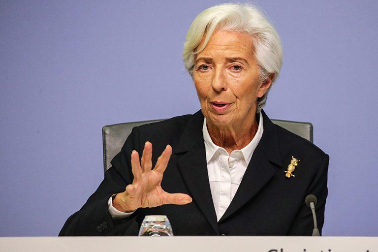 Η ΕΚΤ εκτοξεύει στα 1,35 τρισ. ευρώ το QE κορωνοϊού – Ύφεση τουλάχιστον 8,7% φέτος στην ευρωζώνη