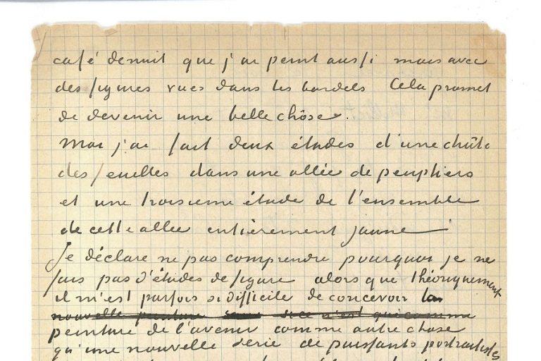«Χτυπήθηκε» σε δημοπρασία ιδιόχειρη, κοινή επιστολή των Βαν Γκογκ και Γκογκέν