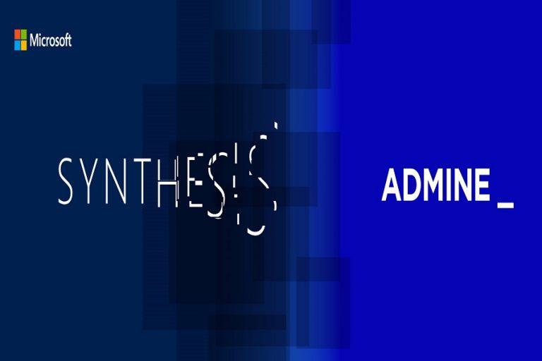Η Admine σχεδιάζει την εικαστική ταυτότητα και στρατηγική επικοινωνία του Microsoft Synthesis