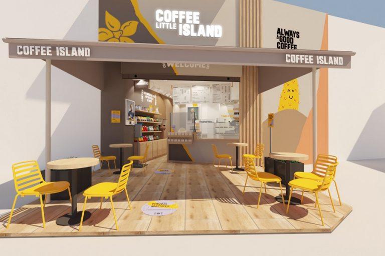 Ένα νέο μοντέλο καταστημάτων παρουσίασε η Coffee Island