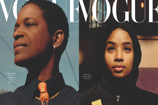 Η βρετανική Vogue τιμά τους εργαζόμενους της πρώτης γραμμής