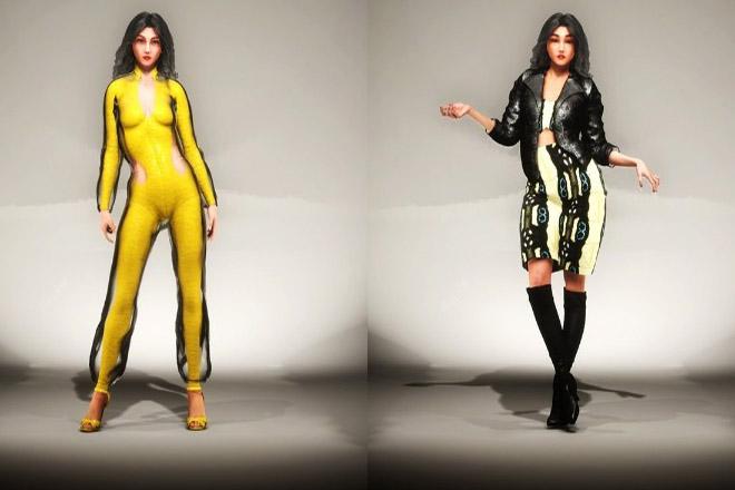 Ο Malan Breton παρουσίασε τη συλλογή του σε εικονική επίδειξη μόδας με 3D μοντέλα