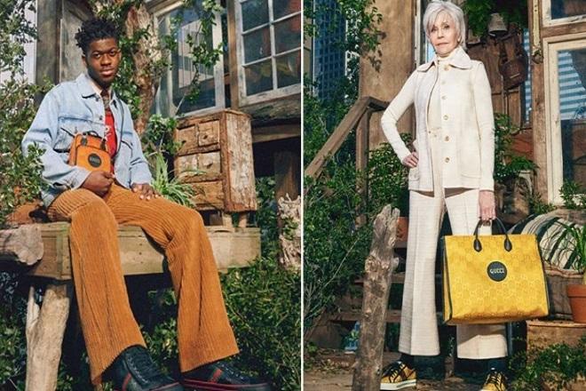 Η Τζέιν Φόντα και ο Lil Nas X είναι τα πρόσωπα της νέας «βιώσιμης» καμπάνιας του Gucci