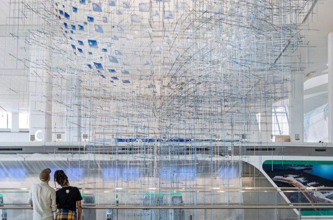 Δημόσια τέχνη στο αεροδρόμιο LaGuardia της Νέας Υόρκης (Φωτογραφίες)