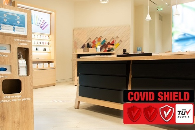 Τα καταστήματα IQOS αποκτούν τη πιστοποίηση CoVid-Shield
