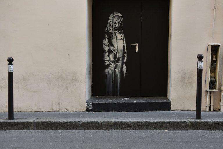 Επέστρεψε σε γαλλικά χέρια το κλεμμένο έργο του Banksyγια το Μπατακλάν