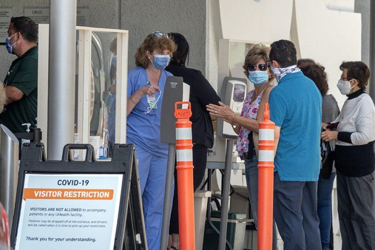 Νέο θλιβερό ρεκόρ για τρίτη συνεχή μέρα στις ΗΠΑ: Πάνω από 62.500 κρούσματα μόλυνσης από τον κορωνοϊό