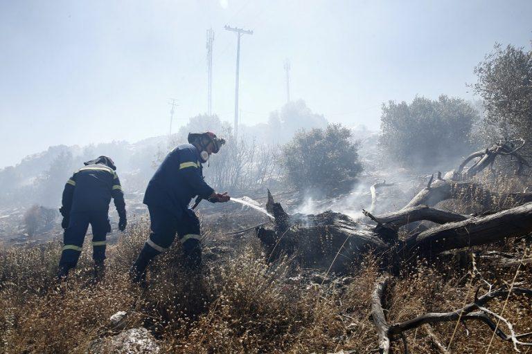 Πυρκαγιά στη Βάρη: Εκκενώθηκαν προληπτικά τα παιδικά χωριά SOS και γηροκομείο