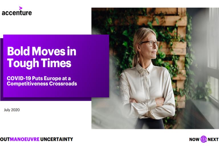 Μελέτη Accenture: Αισιόδοξοι για την ανάκαμψη στην Ευρώπη εμφανίζονται οι επικεφαλής των επιχειρήσεων