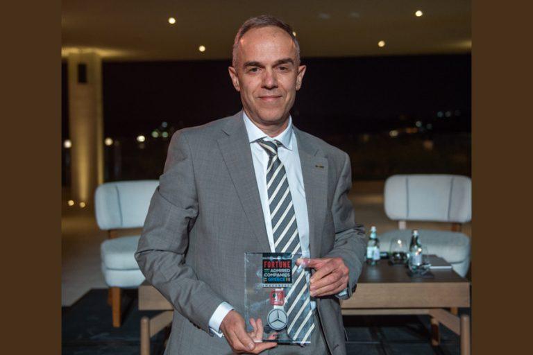 Η Mercedes-Benz Ελλάς για ακόμη μία χρονιά στο Top20 των «Most Admired Companies 2020» του Fortune για την Ελλάδα