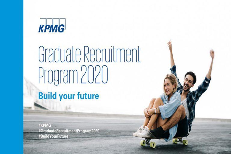 Το KPMG Graduate Recruitment Program για το έτος 2020 είναι γεγονός