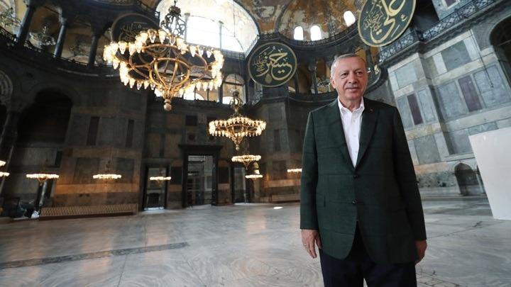Τουρκία: Ο Ερντογάν επισκέφθηκε την Αγία Σοφία