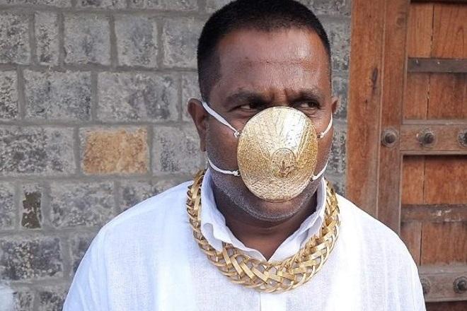 Αστρονομικό ποσό για χρυσή μάσκα ξόδεψε Ινδός επιχειρηματίας