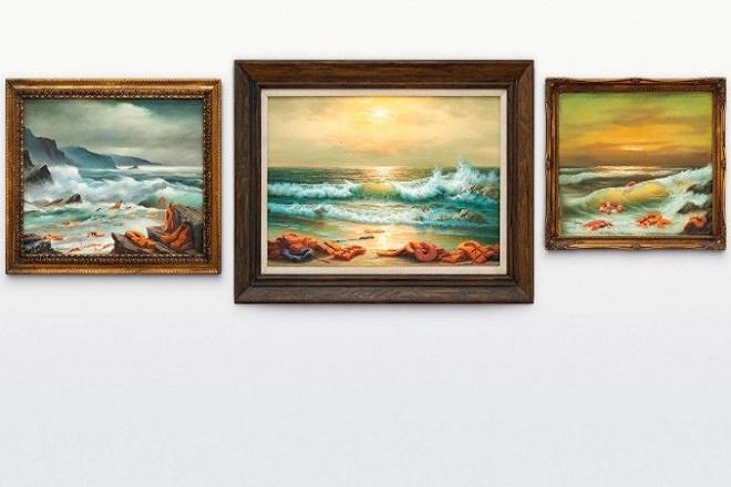 Ελαιογραφίες του Banksy πουλήθηκαν για 2,4 εκατ. ευρώ σε δημοπρασία για καλό σκοπό