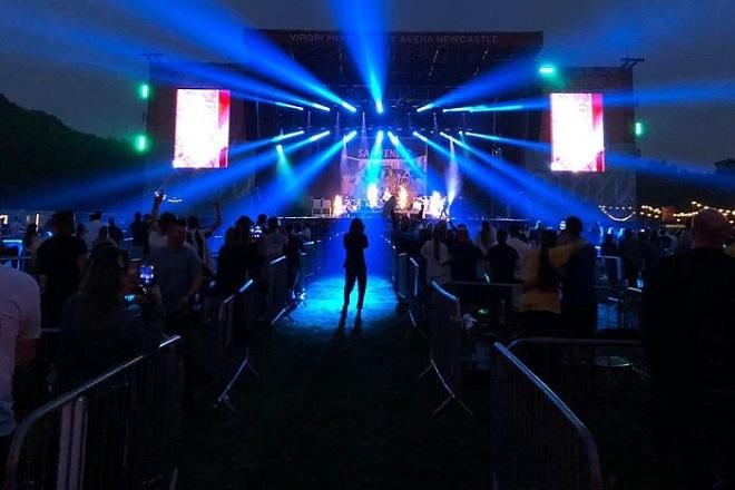 Ένας συναυλιακός χώρος, ιδανικός για την εποχή του κορωνοϊού στο Νιουκάστλ (Φωτογραφίες)