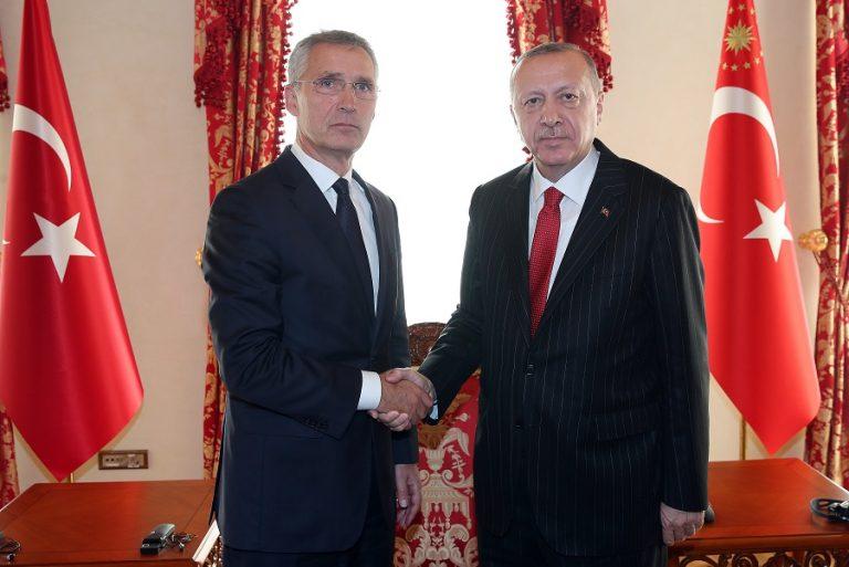 Επικοινωνία Ερντογάν- Στόλτενμπεργκ για την ανατολική Μεσόγειο