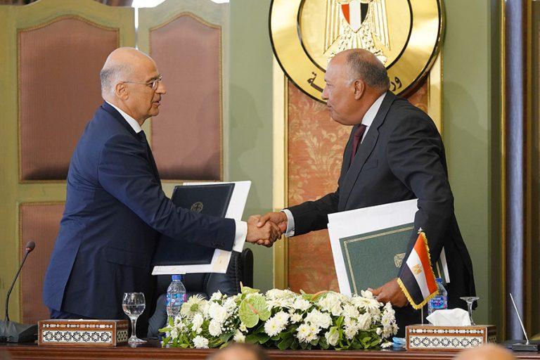 Αιγυπτιακή προεδρία: «Ιστορική εξέλιξη των διμερών σχέσεων Ελλάδας-Αιγύπτου» η συμφωνία για ΑΟΖ