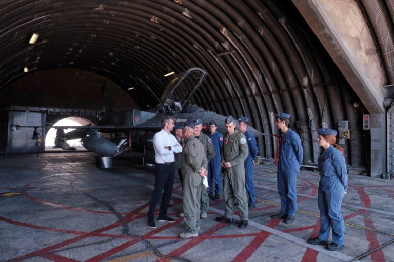 Μητσοτάκης: Αποδείχθηκε έμπρακτα η αποτρεπτική ισχύς των Ενόπλων Δυνάμεων