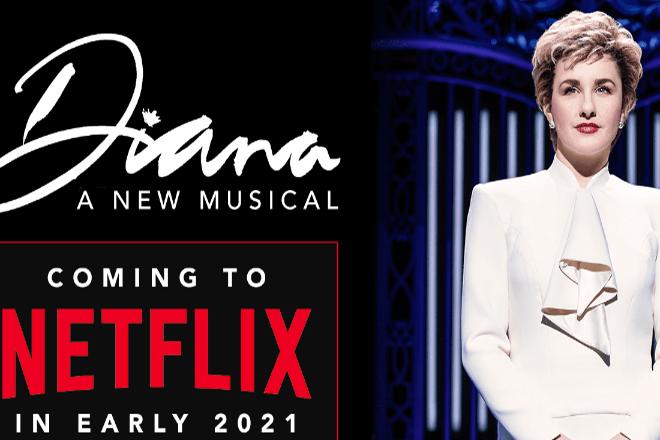 Από το Μπρόντγουεϊ στο Netflix: Ένα μιούζικαλ για την πριγκίπισσα Νταϊάνα