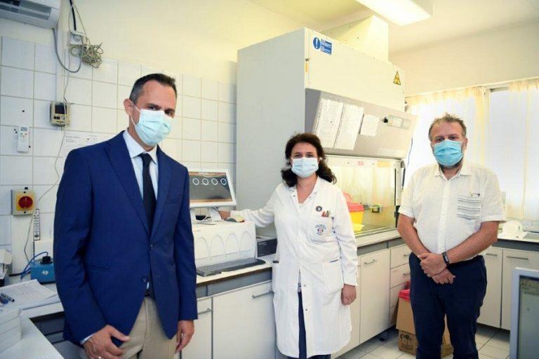 Όμιλος ΕΛΠΕ: Νέα Δωρεά 3.000 τεστ και συστήματος διάγνωσης COVID-19 στο Θριάσιο Νοσοκομείο