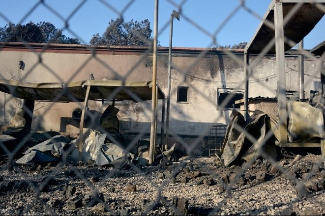 Σε κατάσταση έκτακτης ανάγκης η Λέσβος- Κυβερνητικό κλιμάκιο στη Μόρια