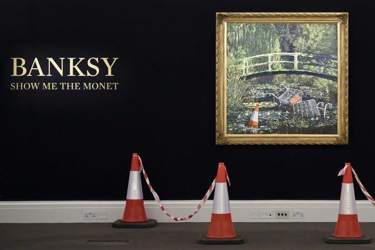 Ξεπέρασε κάθε προσδοκία έργο του Banksy που πουλήθηκε σχεδόν 10 εκατ. δολάρια
