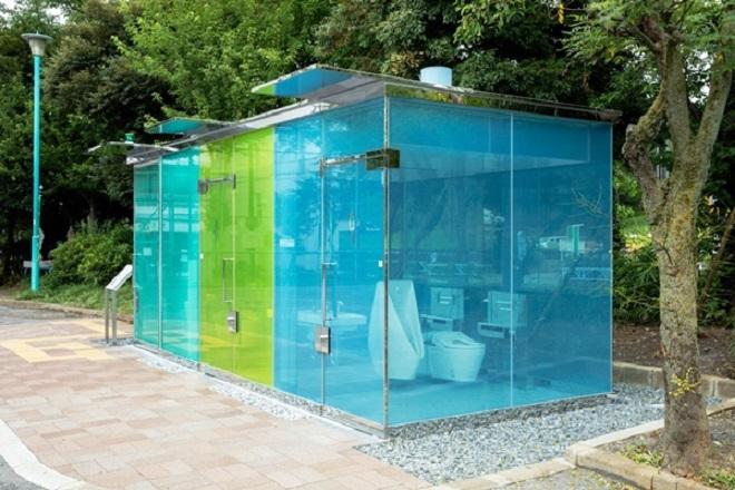 Ευφάνταστο design για… δημόσιες τουαλέτες στο Τόκιο