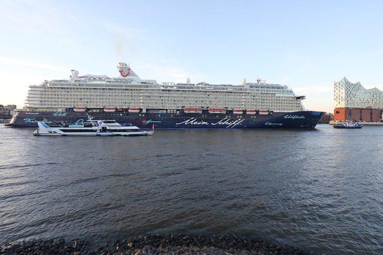 Η TUI Cruises εγκαινίασε τα δρομολόγια κρουαζιέρας στην Ελλάδα για πρώτη φορά μετά το lockdown