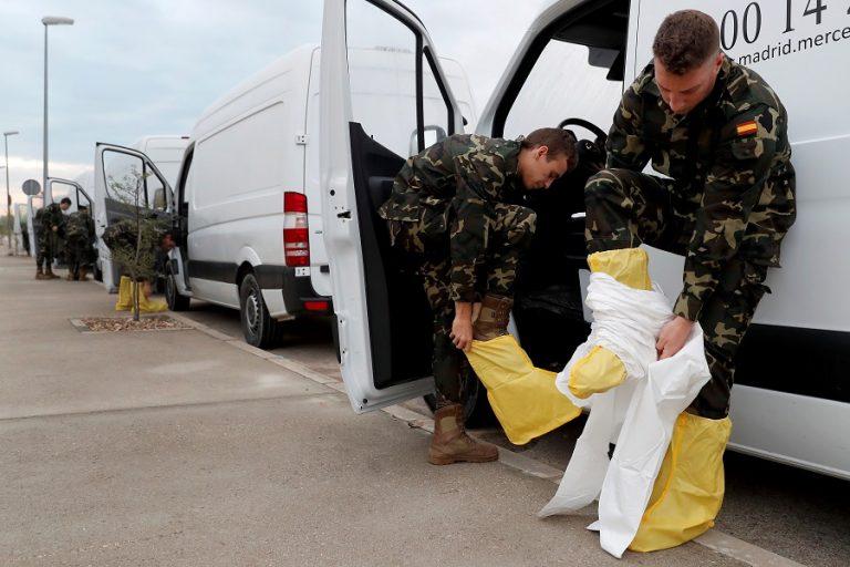 Σε κατάσταση έκτακτης ανάγκης η Μαδρίτη. Ζητάει τη βοήθεια του στρατού για να τον κορωνοϊό