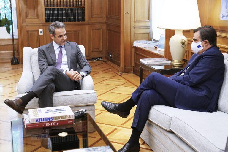 Κ. Μητσοτάκης προς Μ. Σχοινά: Η ευρωπαϊκή αλληλεγγύη δεν μπορεί να εξαντλείται στη διαχείριση κρίσης