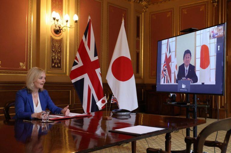 Η εμπορική συμφωνία Μ. Βρετανίας- Ιαπωνίας και οι Δροσουλίτες