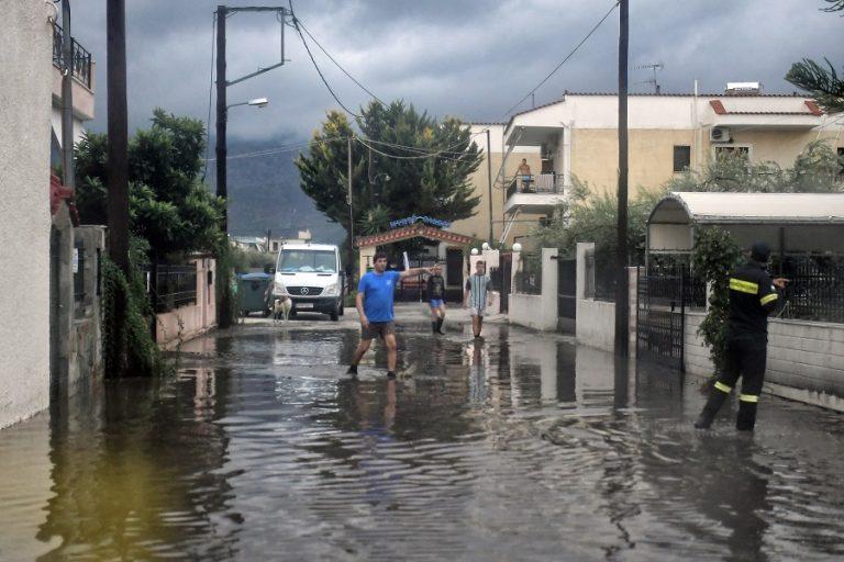Στην Καρδίτσα η ισχυρότερη βροχόπτωση της κακοκαιρίας