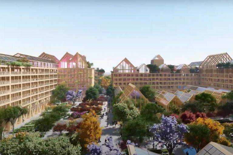 Μια νέα, βιώσιμη πόλη σχεδιάζεται στην Κίνα- Ιδανική και για την περίπτωση ενός ακόμα lockdown