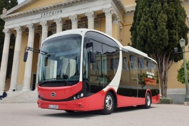 «Πρεμιέρα» σήμερα για το πρώτο ηλεκτρικό λεωφορείο της Αθήνας- Το δρομολόγιο