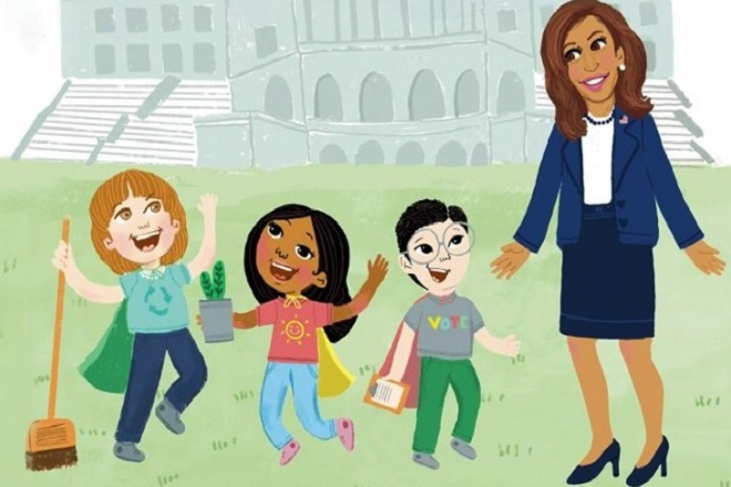 Το παιδικό βιβλίο της Καμάλα Χάρις είναι βγαλμένο από τα παιδικά της χρόνια