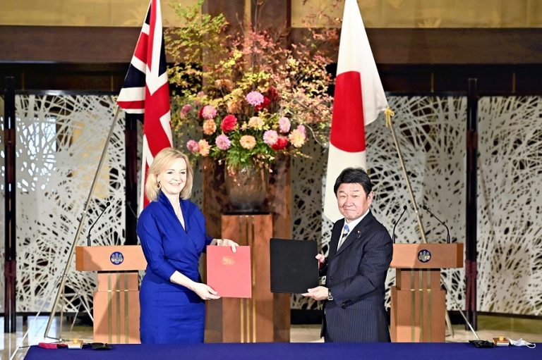 Έπεσαν οι υπογραφές στη συμφωνία μεταξύ Βρετανίας και Ιαπωνίας- Τι σημαίνει και σε τι αποσκοπεί