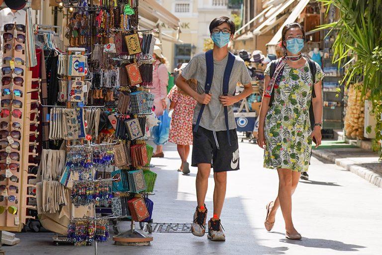 Ο χάρτης της μεγάλης πτώσης του τουρισμού φέτος στην Ελλάδα
