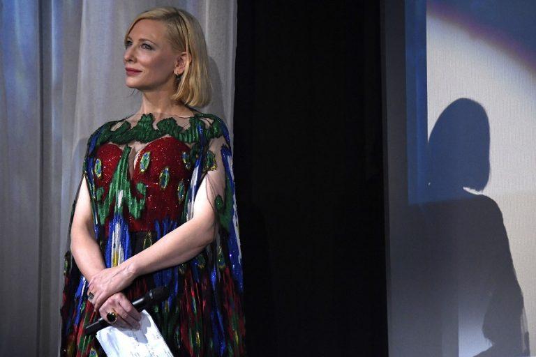 Η Κέιτ Μπλάνσετ αναλαμβάνει χρέη παραγωγού της ταινίας «Μήλα» του Χρήστου Νίκου