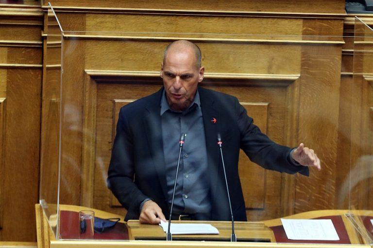 Αποχώρησε το ΜέΡΑ25 από την ψηφοφορία για την πρόταση δυσπιστίας