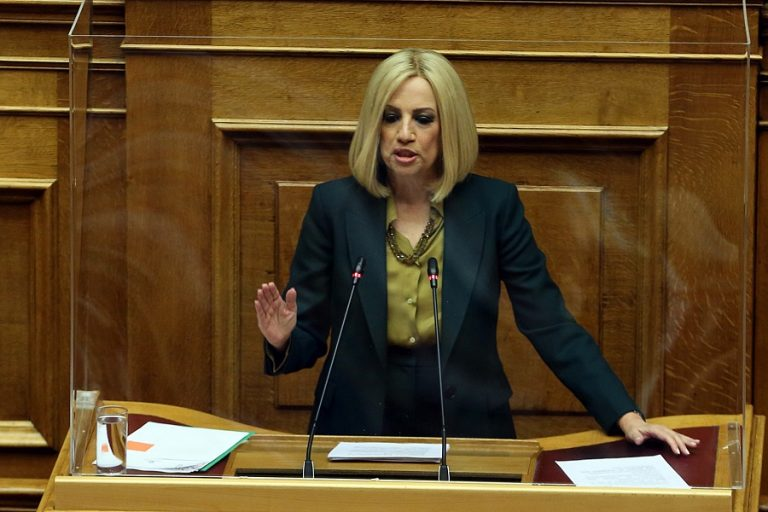 Γεννηματά: Επιβεβαιώθηκε ότι ο Τσίπρας είναι ο καλύτερος πολιτικός χορηγός της δεξιάς