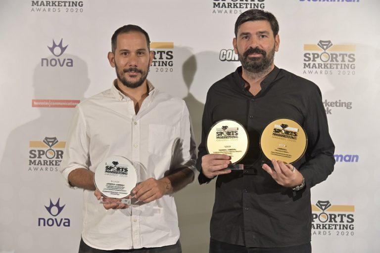 Διάκριση της 24MEDIA στα Sports Marketing Awards