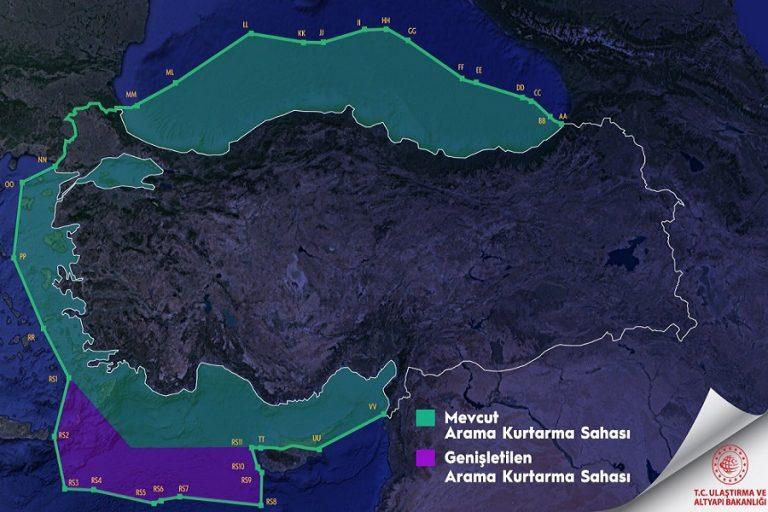 Υπουργός του Ερντογάν παρουσίασε χάρτη με το… μισό Αιγαίο δικό της – Η απάντηση του ελληνικού ΥΠΕΞ
