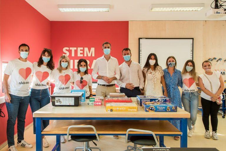 ΠΛΑΙΣΙΟ Computers: Δημιουργία της πρώτης STEM Βιβλιοθήκης σε δημόσιο σχολείο