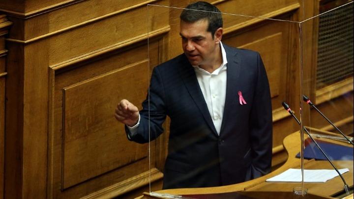 Σύγκληση Συμβουλίου Πολιτικών Αρχηγών και υπουργό Υγείας κοινής αποδοχής ζητάει ο Αλέξης Τσίπρας