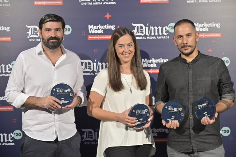 Η 24MEDIA απέσπασε τέσσερα βραβεία στα DIME Awards 2020