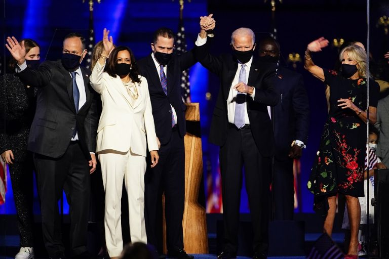 Η Κάμαλα Χάρις, η πρώτη γυναίκα αντιπρόεδρος των ΗΠΑ διαβεβαιώνει ότι δεν θα είναι «η τελευταία»